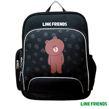 【LINE FRIENDS】EVA護脊書包(熊大)LI-5401