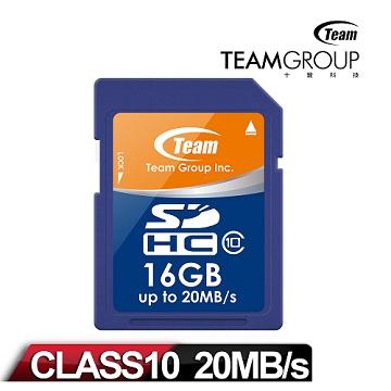 十銓 16GB SDHC Class10記憶卡