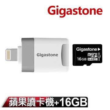 Gigastone  MicroSD Apple讀卡機 CR-8600 (內含16G記憶卡)
