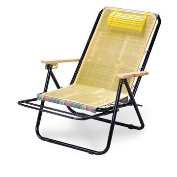 竹蓆彈簧涼椅