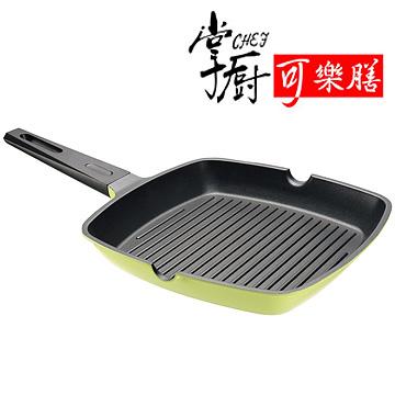掌廚巧馥法瑯鑄造方型煎鍋