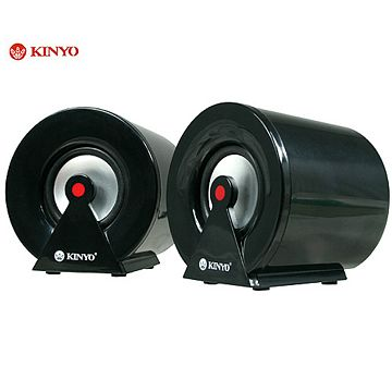 KINYO『小鋼炮』USB多媒體擴大音箱(US-183)
