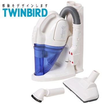 日本《 TWINBIRD 》無線充電式五吸頭吸塵器(HC-4328)