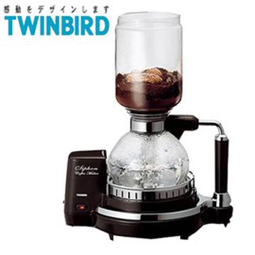 日本《 TWINBIRD 》電動虹吸式咖啡壺(CM-D853)
