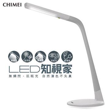 【CHIMEI奇美】第三代LED知視家護眼檯燈(白色) CE6-10C1-56T-T0