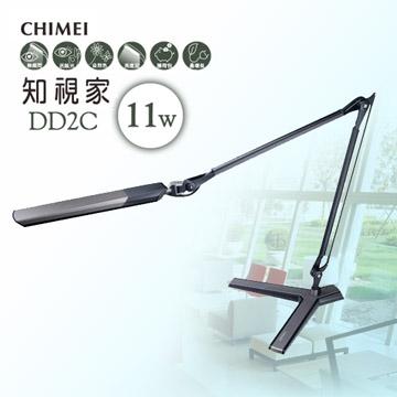 CHIMEI奇美 知視家座式雙臂LED護眼檯燈(黑色) DD2C