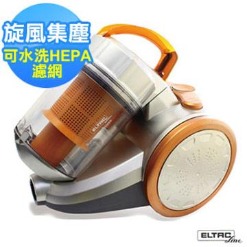 【ELTAC歐頓】Mini旋風免紙袋吸塵器 EVA-001