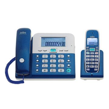 【SAMPO聲寶】2.4Ghz高頻數位無線電話CT-W1103NL-藍