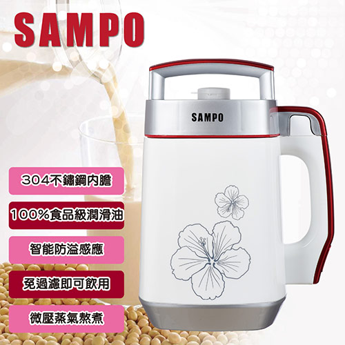 【SAMPO聲寶】全營養豆漿機 DG-AD12