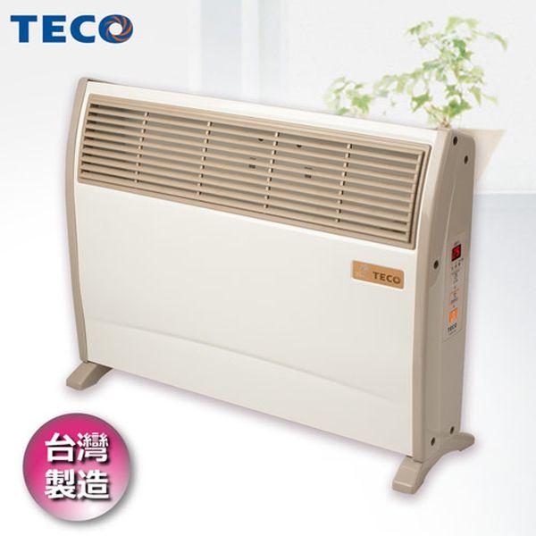 【TECO東元】 浴室臥房兩用防潑水微電腦電暖器 YN2001CB