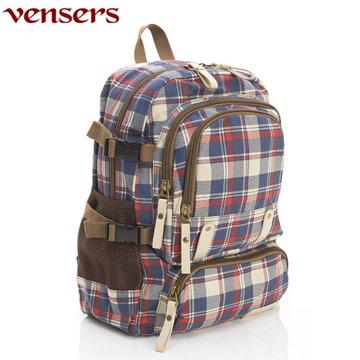 【Vensers】新潮流行包系列~後背包(D370101藍黃)