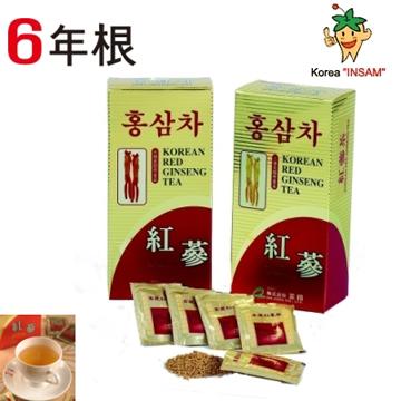 金蔘-紅蔘茶包(30入/盒)共2盒