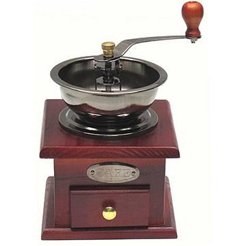 手工木製咖啡豆磨豆機研磨機