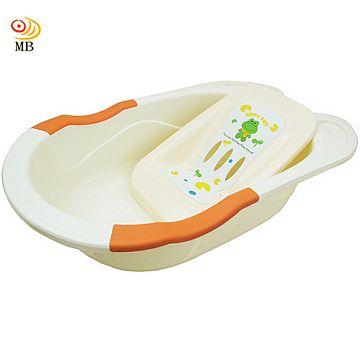 月陽加大85公分嬰幼兒浴缸洗澡盆浴盆附躺椅(LBJ-8837)