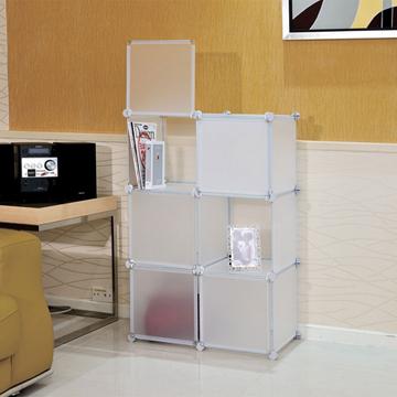 ikloo-6格6門收納櫃-12吋百變收納櫃/組合櫃-白色