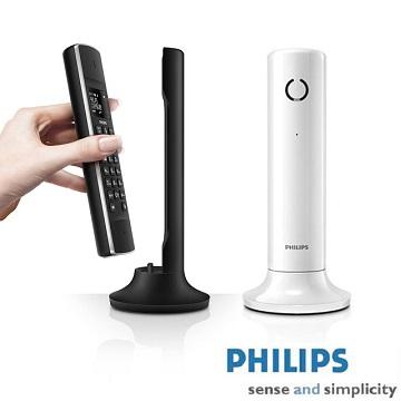 【飛利浦PHILIPS】 設計家節能數位無線電話 M3301B (黑色)