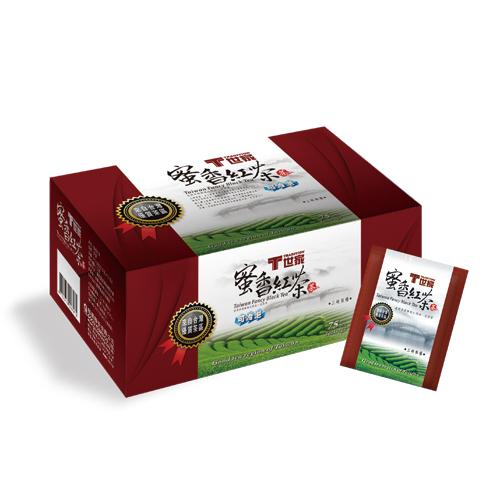 T世家-台灣優質茶 蜜香紅茶包*3盒