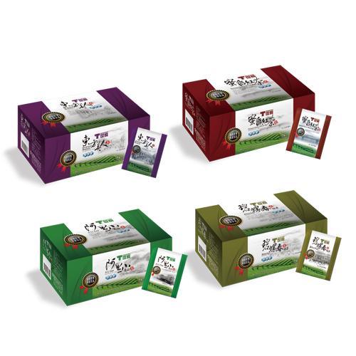 T世家-台灣優質茶 綜合茶包*4盒(東方美人+阿里山高山茶+碧螺春+蜜香紅茶 )