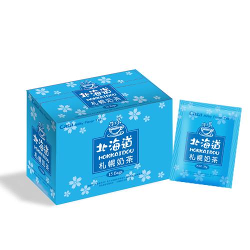 [卡薩casa] 日式風味奶茶-北海道札幌奶茶15包*3盒