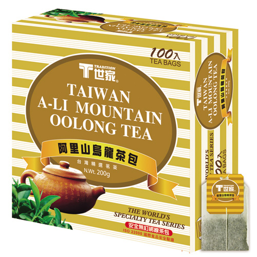 T世家-阿里山茶包-簡易包*3盒