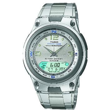 CASIO‧雙顯多功能休閒運動錶:AW-82D-7A