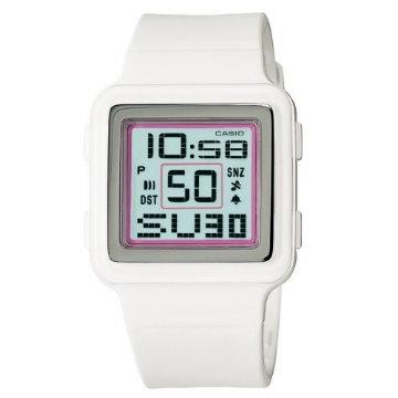 CASIO‧Poptone系列色彩鮮活數字錶LDF-20-7A