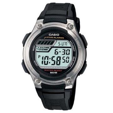 CASIO卡西歐‧電子數位休閒運動錶款W-212H-1A