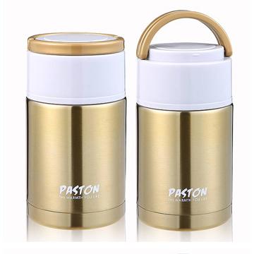 【御工匠】PASTON 304不鏽鋼燜燒罐1000ML(買一送一)-璀璨金