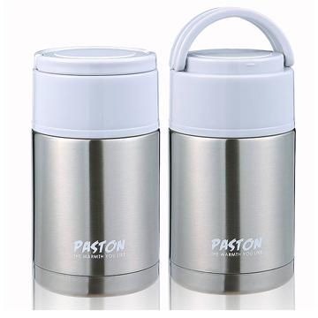 【御工匠】PASTON 304不鏽鋼燜燒罐1000ML(買一送一)-閃亮銀