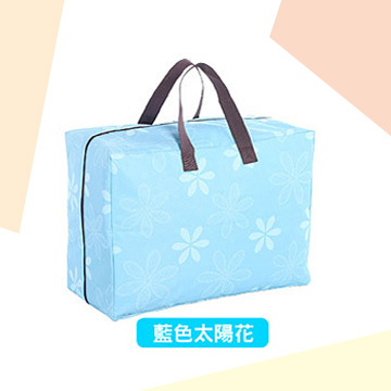 【御工匠】超耐重600D日式收納袋-2入--太陽花(藍)