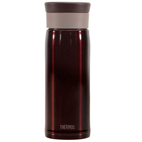 THERMOS膳魔師 不鏽鋼真空保溫杯480ml-咖啡色【JMZ-480】