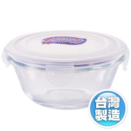 【Artist】密封玻璃微波保鮮盒400ML~台灣製造