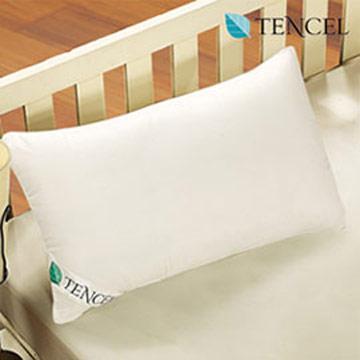 床之戀 台灣製高級透氣提花壓紋表布舒柔TENCEL天絲枕