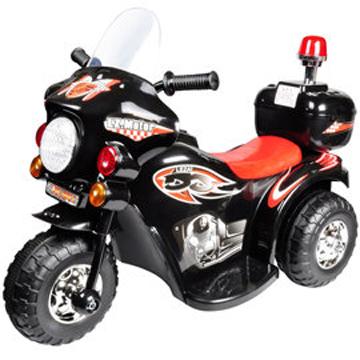 寶貝樂 皇家警察兒童電動摩托車/電動機車-黑色
