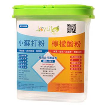 JoyLife 環保清潔劑強效精裝組盒(小蘇打粉100gx2+檸檬酸100gx1)