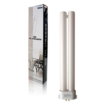 SAMPO FPL 27W 省電燈管-2入裝 LB-U27FW