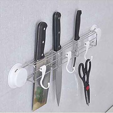 【三合一】吸盤多功能刀具置物架
