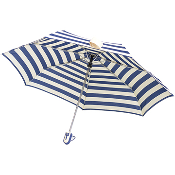 【SC life】海軍條紋自動開收傘-藍色
