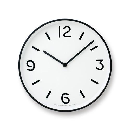 黑白純粹時鐘-白LC10-20A WH