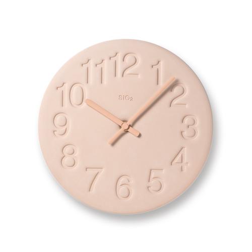 珪藻土時鐘-粉紅色LC11-08 PK