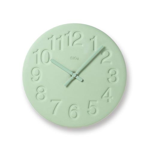 珪藻土時鐘-淺綠色LC11-08 GN