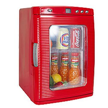 KRIA可利亞 電子行動冰箱CLT-25L紅色