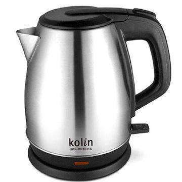 歌林kolin 1.8L不鏽鋼快煮壺