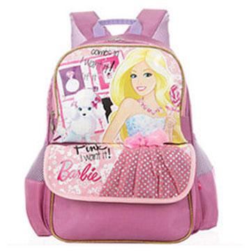 芭比Barbie 小甜心學生書包C-紫色