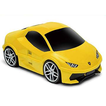 大牛跑車行李箱/ 藍寶堅尼 Lamborghini(黃)