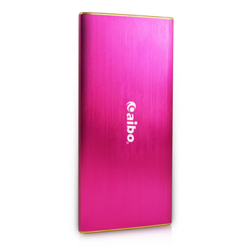aibo 大容量輕薄行動電源8400mAh(三星電芯)-粉紅