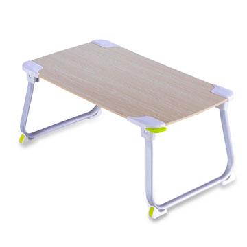 【aibo】 超輕多功能折疊NB電腦桌-木紋