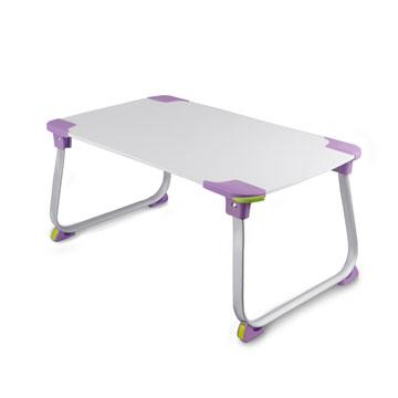 【aibo】 超輕多功能折疊NB電腦桌-紫色