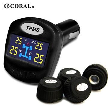 CORAL 外置式DIY無線胎壓偵測器TPMS-403