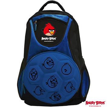【Angry Birds 憤怒鳥】足球造型組合書背包AB-6019A藍色
